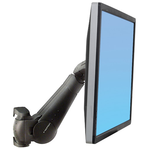 Ergotron 400 Series Wall Mount LCD Arm (Black)