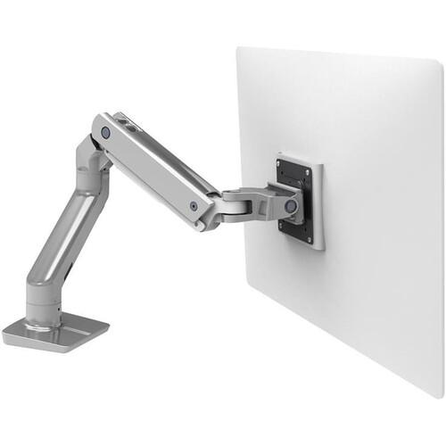 Ergotron HX Desk Monitor Arm for Displays up to 42 lb (Polished Aluminum)