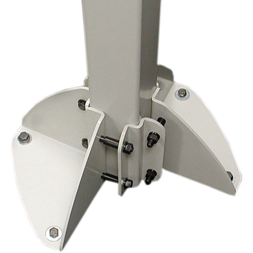 Ergotron HD Arm Post Mounting Solutions Bracket (Gray)