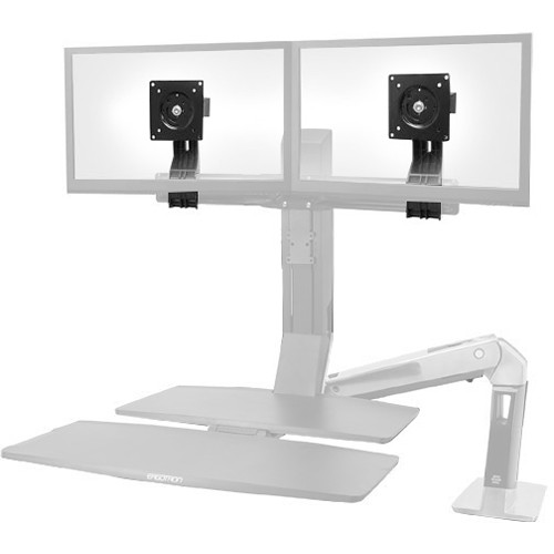 Ergotron Tall-User Kit for Select WorkFit Dual-Display Workstations