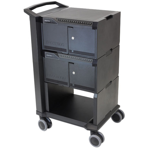 Ergotron Tablet Management Charge & Sync Cart with ISI for 32 iPads (2.4A)