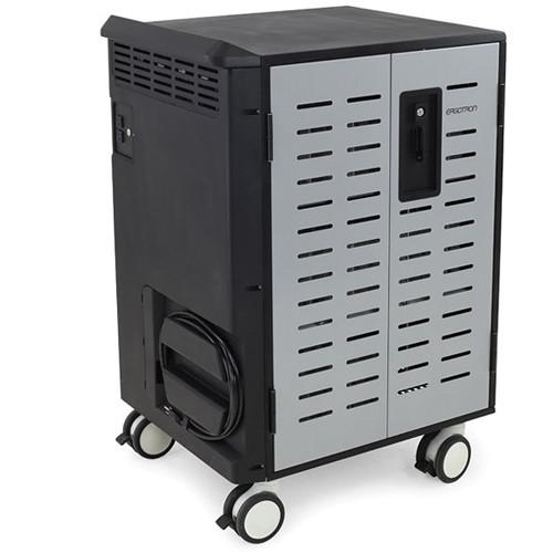 Ergotron Zip40 Charging Cart (Black /Silver)