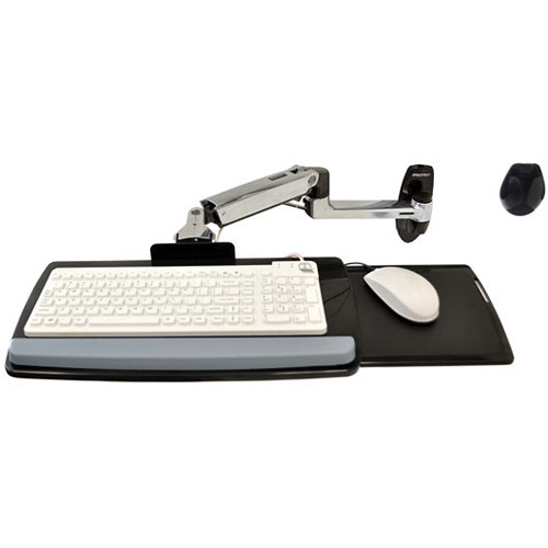 Ergotron Lx Wall Mount Keyboard Arm 45 246 026 B Amp H Photo Video