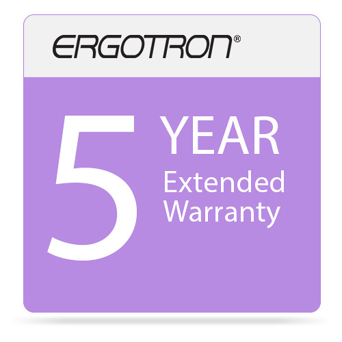 Ergotron Five-Year Extended Warranty for AC Charging Systems (Download)