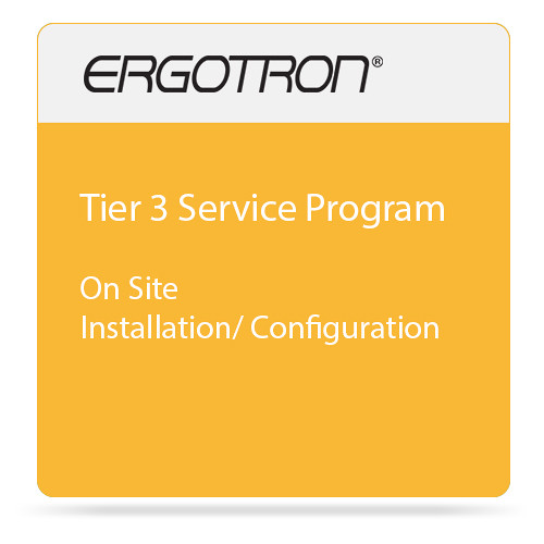 Ergotron Ergotron Product Integration Tier 3 Service Program - Installation / Configuration - On-Site