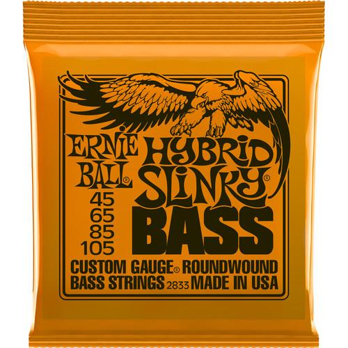 Ernie Ball Hybrid Slinky Nickel Wound Electric Bass Strings (4-String Set, .045 - .105)