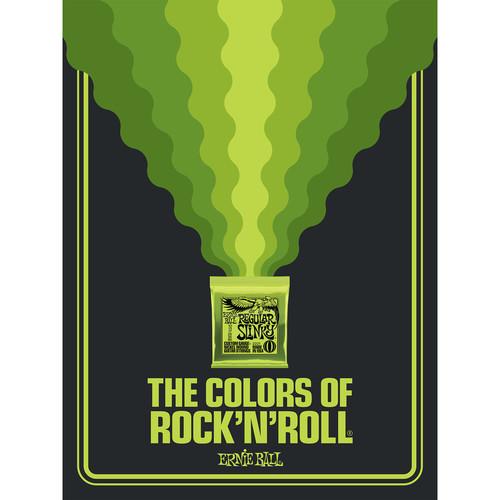Ernie Ball The Colors of Rock'N'Roll Regular Slinky Poster