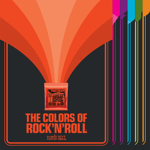 Ernie Ball Complete Colors of Rock N' Roll Poster Set (Set of 6)