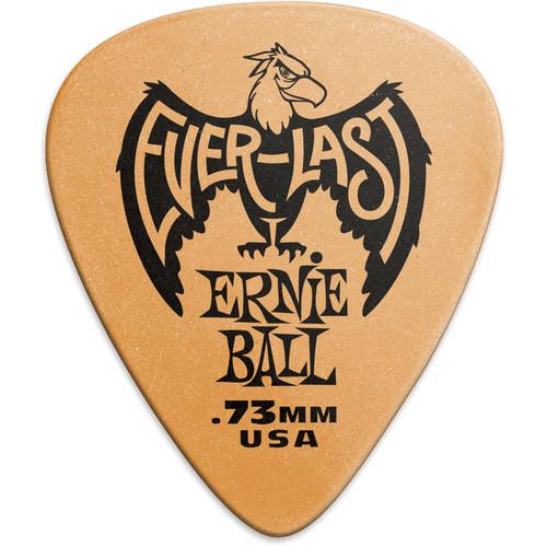 Ernie Ball Everlast Electric Guitar Picks (.73mm, Orange, 12-Pack)