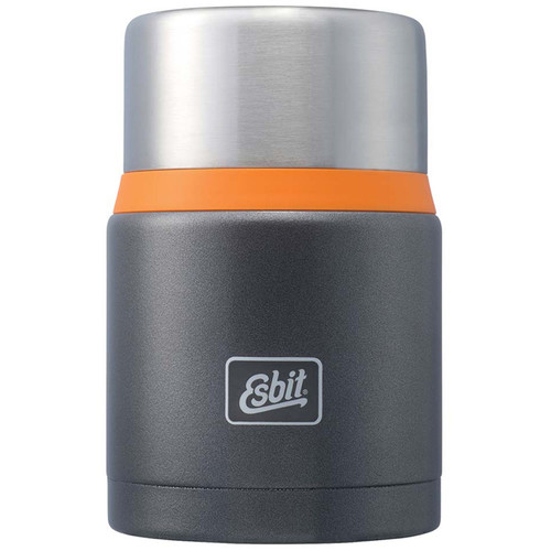 Esbit 25 oz Food Jug (Dark Gray/Orange)