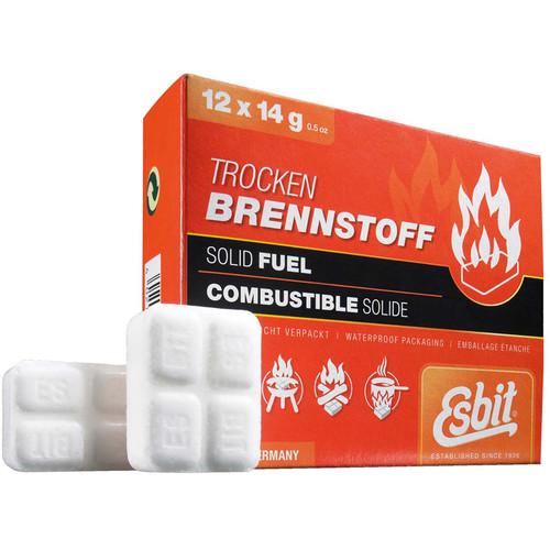 Esbit Solid 14 Gram Fuel Tablets (12-Pack)