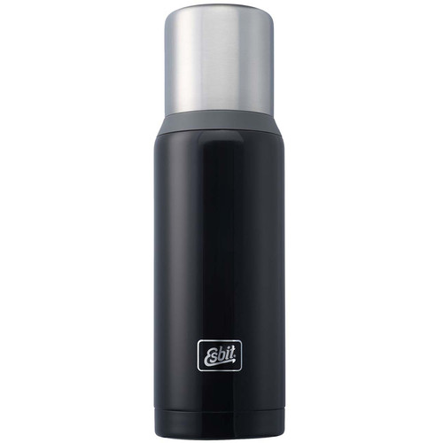 Esbit Vacuum Flask (34 fl oz, Dark Blue/Dark Gray)