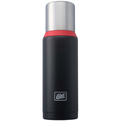 Esbit Vacuum Flask (34 fl oz, Black/Red)