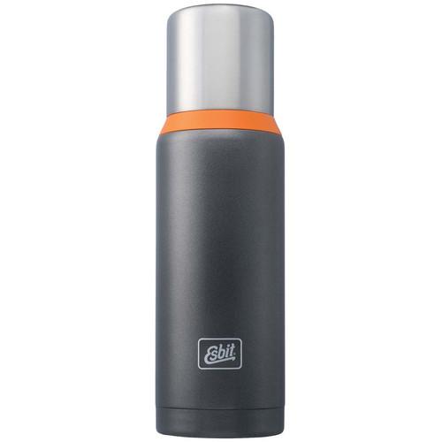 Esbit Vacuum Flask (34 fl oz, Dark Gray/Orange)