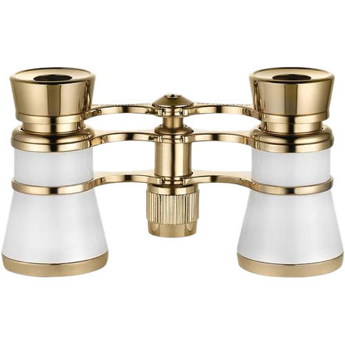 Eschenbach Optik 3x25 Glamour Opera Glasses (Pearl White)