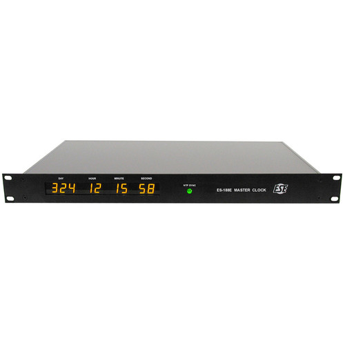 ESE NTP Referenced Master Clock with Time Code Generator & NTP Server