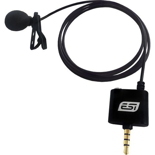 ESI cosMik Lav Professional Lavalier Condenser Microphone for Smartphones