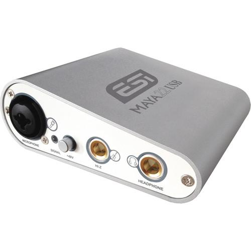 ESI MAYA22 USB Flexible High-Performance, 24-Bit USB Audio Interface