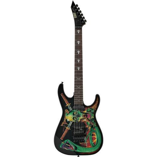 ESP George Lynch Signature Series Electric Guitar (Skulls & Snakes)