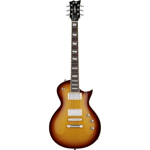 ESP E-II Eclipse FM Electric Guitar (Tobacco Sunburst)