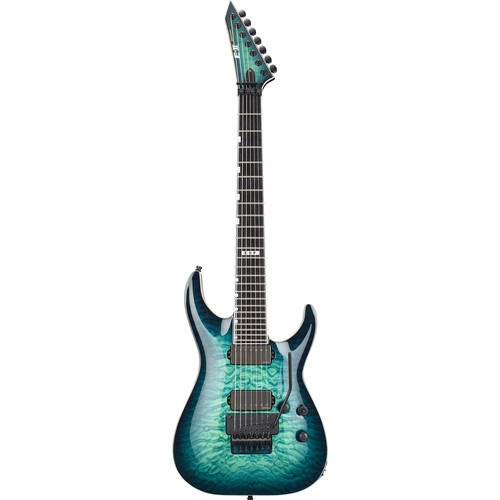 ESP E-II Horizon FR-7 7-String Electric Guitar (Black)