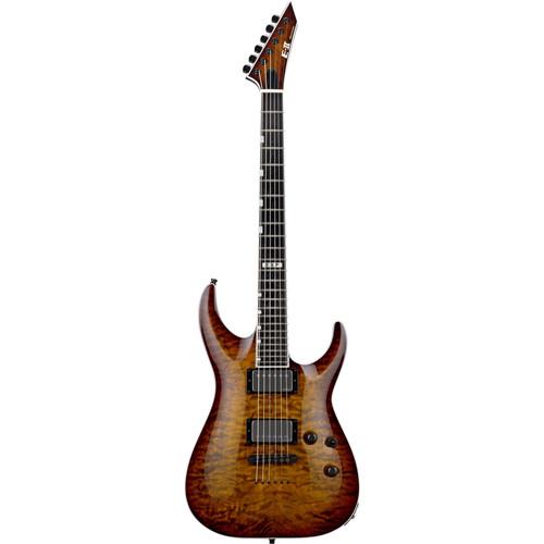 ESP E-II Horizon NT-II Electric Guitar (Tiger Eye Sunburst)