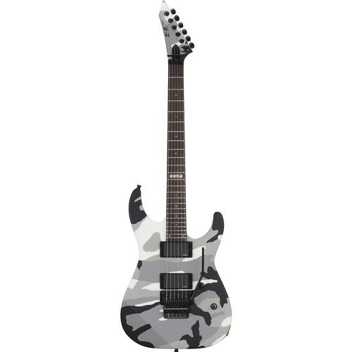 ESP E-II M-II Neck-Thru Electric Guitar (Urban Camo)