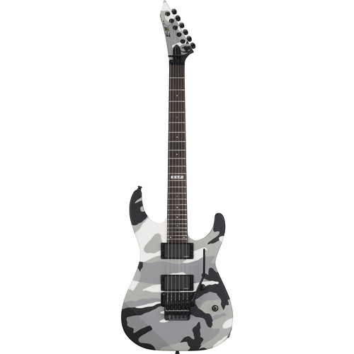 ESP E-II M-II Neck-Thru Electric Guitar (Urban Camo)