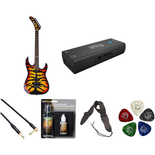 ESP ESP LTD GL-200SBT George Lynch Signature Series Electric Guitar Home Recording Starter Kit