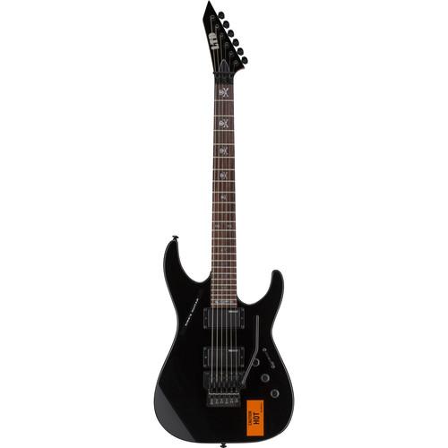ESP ESP LTD KH-202 CAUTION Kirk Hammett Signature Series Electric Guitar Starter Kit