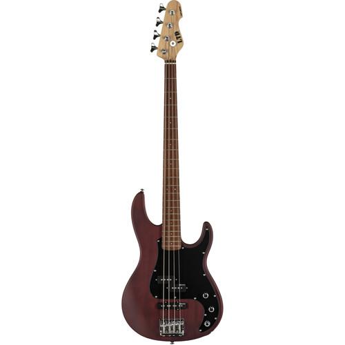 ESP LTD AP-204 Electric Bass (Natural Satin)