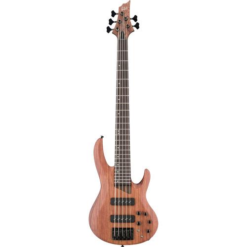 ESP LTD B-1005SE 5-String Electric Bass (Natural Satin)