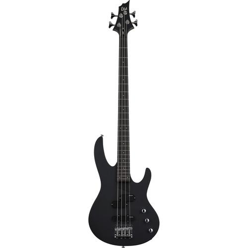 ESP LTD B-10 Electric Bass Kit with Gig Bag (Black)