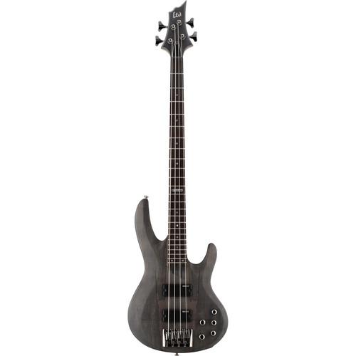 ESP LTD B-204SM Electric Bass (See Thru Black Satin)