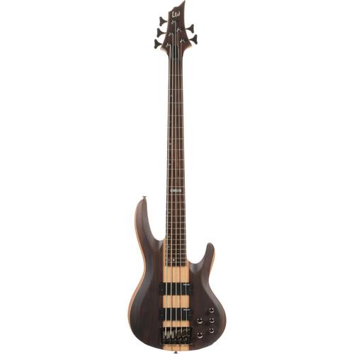 ESP LTD B-5E 5-String Electric Bass (Natural Satin)