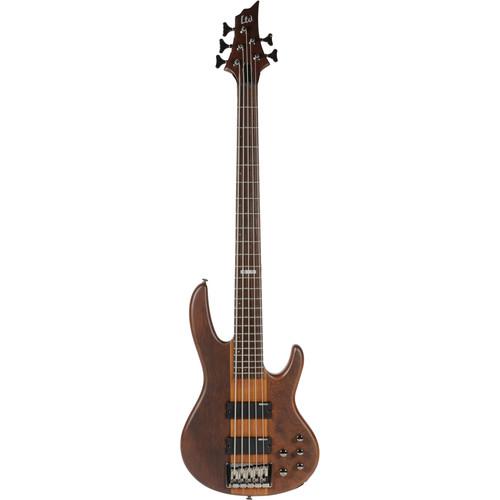 ESP LTD D-5 5-String Electric Bass (Natural Satin)