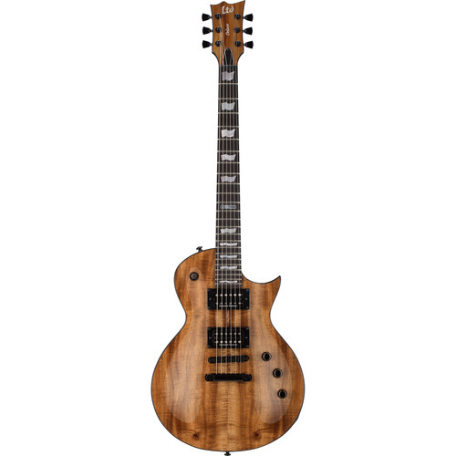 ESP LTD EC-1000 KOA Electric Guitar (Natural Koa)