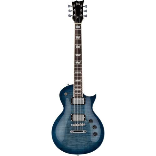 ESP LTD EC-256FM Electric Guitar (Cobalt Blue)