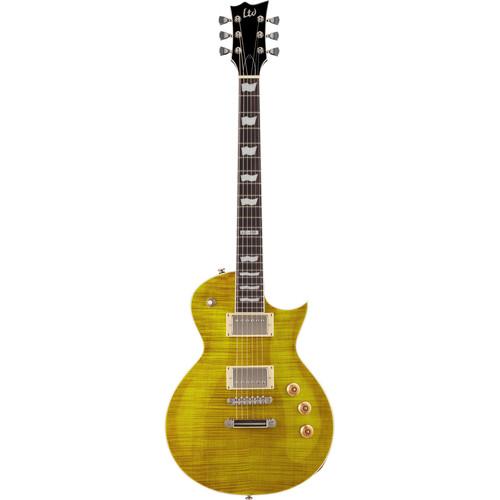 ESP LTD EC-256FM Electric Guitar (Lemon Drop)