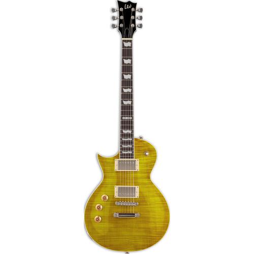 ESP LTD EC-256FM Electric Guitar (Left-Handed,Lemon Drop)