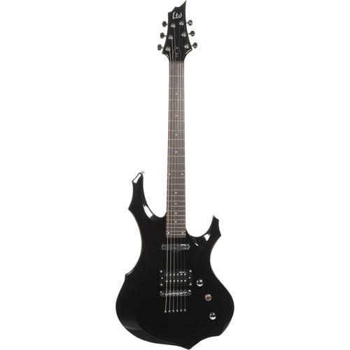 ESP LTD F-10 Electric Guitar Kit with Gig Bag (Black)