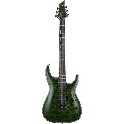 ESP LTD H-1001 Electric Guitar (See Thru Green)