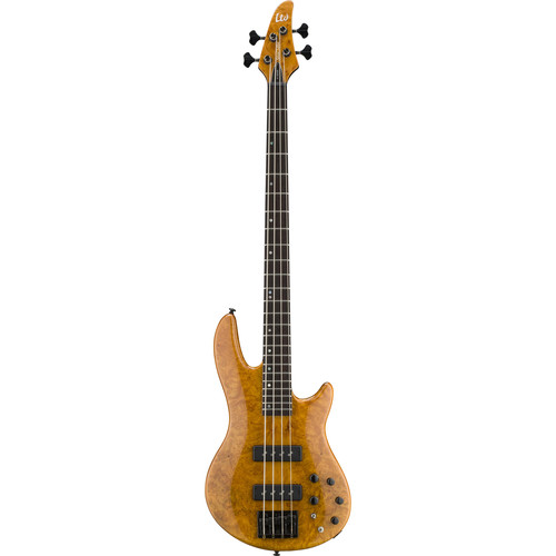 ESP H-1004SE Electric Bass (Honey Natural)