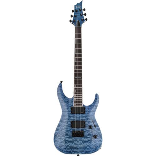 ESP LTD H-401QM Electric Guitar (Faded Sky Blue)