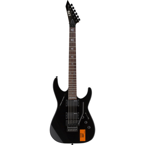 ESP LTD KH-202 CAUTION Kirk Hammett Signature Series Electric Guitar