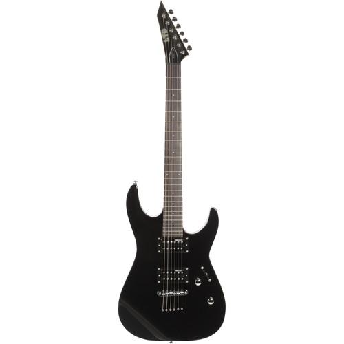 ESP LTD M-10 Electric Guitar Kit with Gig Bag (Black)