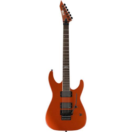 ESP LTD M-400R Electric Guitar (Burnt Orange Metallic)
