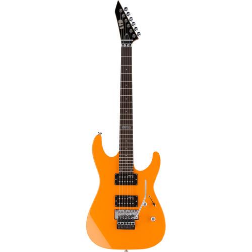 ESP LTD M-50FR Electric Guitar (Neon Orange)