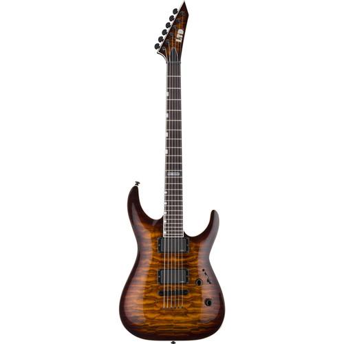 ESP LTD MH-401NT Electric Guitar (Dark Brown Sunburst)