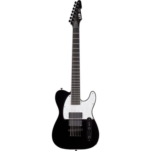 ESP LTD SCT-607B Stephen Carpenter Signature Series 7-String Baritone Electric Guitar (Black)